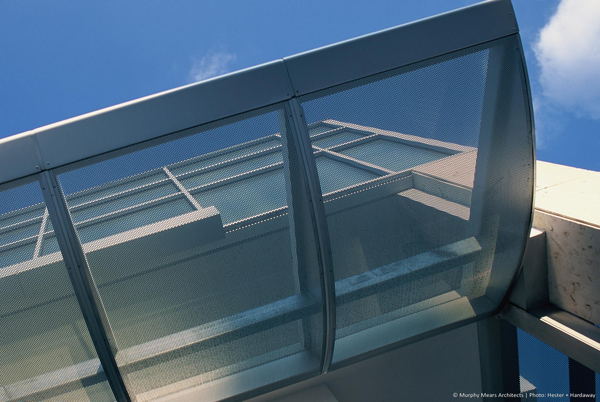 Metal Awnings Houston Center-metal-screen-awning