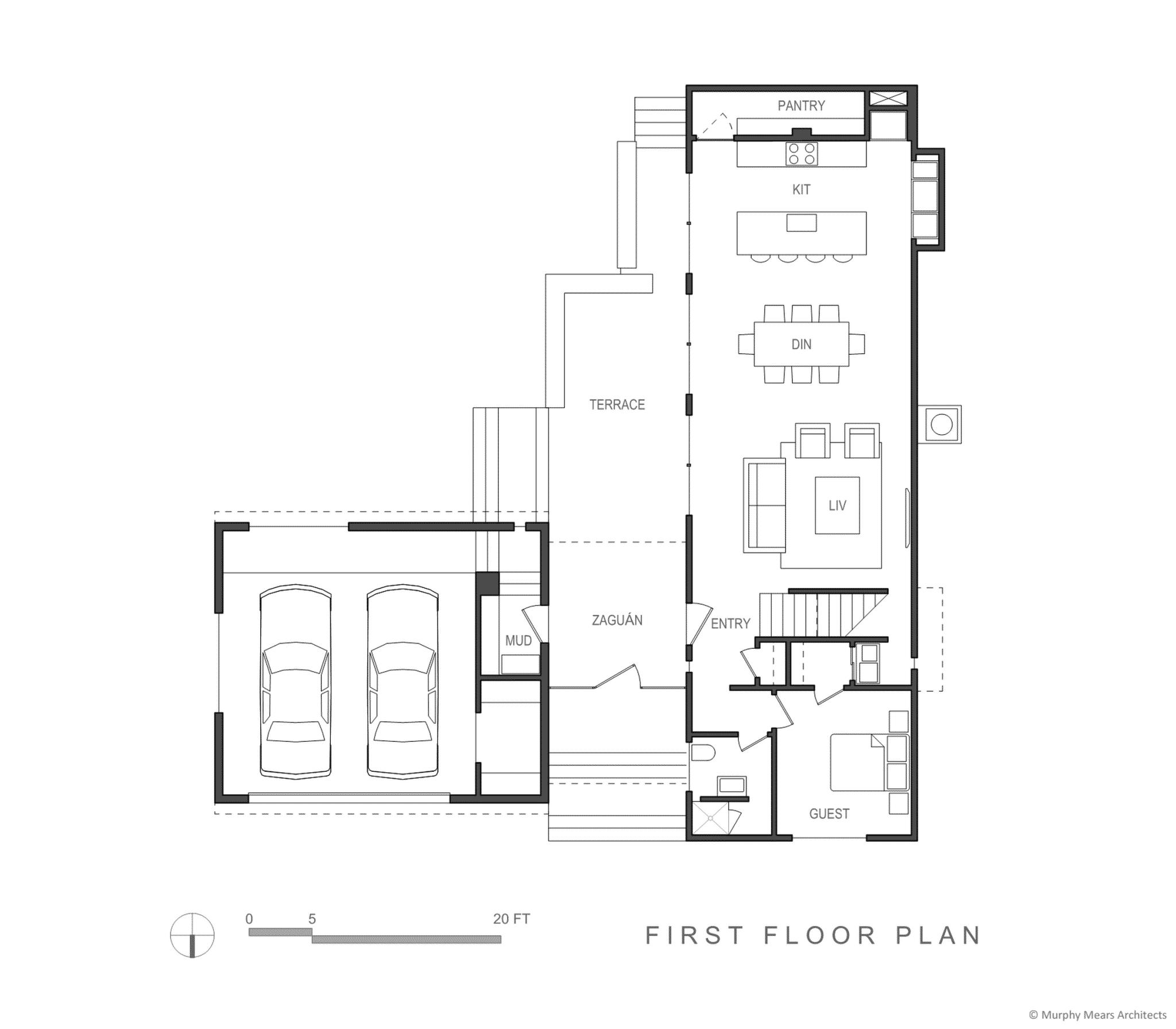 Zagu N House Murphy Mears Architects