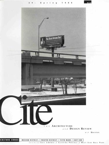 Cite 34 Spring 1996