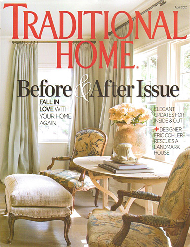 Traditional Home April 2012